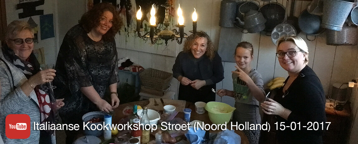 Italiaanse kookworkshop in Stroet